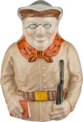 Political:3D & Other Display (1896-present), Theodore Roosevelt: Ceramic Toby Pitcher or Mug by Lenox. ...