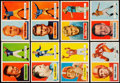 Football Cards:Sets, 1957 Topps Football Near Set (151/154) With Checklist. . ...