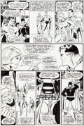 Original Comic Art:Panel Pages, Keith Giffen and Wally Wood All-Star Comics #62 JusticeSociety of America/Power Girl Original Art (DC, 1976)....