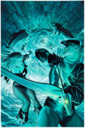 Original Comic Art:Covers, Alex Ross Justice #10 Cover Painting Black Canary and Green Arrow Original Art (DC, 2007)....