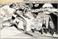 Original Comic Art:Splash Pages, Dave Hunt and Duffy Vohland Super Spider-Man #186 SplashPage 1 Original Art (Marvel UK, 1976)....