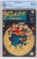 Flash Comics #101 (DC, 1948) CBCS Restored FN- 5.5 (Moderate Professional) Off-white to white pages