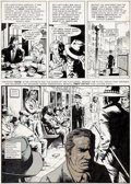 "Original Comic Art:Panel Pages, John Severin and Wally Wood Creepy #78 Complete 8-Page Story""Creeps"" Original Art (Warren, 1976)...."