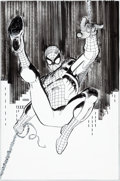 Original Comic Art:Covers, John Romita Jr. and Klaus Janson Avengers V4#1 Gatefold Cover Element Spider-Man Original Art (Marvel, 2010)....