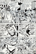 Original Comic Art:Panel Pages, John Buscema and Joe Sinnott Thor #222 Story Page 2 OriginalArt (Marvel, 1974)....