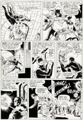 Original Comic Art:Panel Pages, Wally Wood and Bob Powell Daredevil #9 Story Page 12Original Art (Marvel, 1965)....