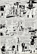Original Comic Art:Panel Pages, Wally Wood Daredevil #6 Story Page 8 Original Art (Marvel,1965)....