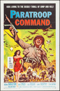 "Movie Posters:War, Paratroop Command (American International, 1959). One Sheet (27"" X41""). War.. ..."