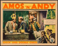 """Movie Posters:Comedy, Check and Double Check (RKO, 1930). Lobby Card (11"""" X 14"""").Comedy.. ..."""
