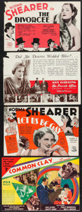 """Movie Posters:Romance, The Divorcee & Others Lot (MGM, 1930). Heralds (4) (9"""" X 5.5"""" & 9"""" X 6""""). Romance.. ... (Total: 4 Items)"""