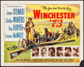 "Movie Posters:Western, Winchester '73 (Universal International, 1950). Title Lobby Card(11"" X 14""). Western.. ..."