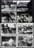 """Movie Posters:Foreign, The Seven Samurai (Toho, 1954). Original Japanese Photos (8) (6.5"""" X 5""""), Full-Bleed Photos (9) (6"""" X 4.25""""). Foreign.. ... (Total: 17 Items)"""