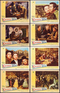 "Movie Posters:Western, California (Paramount, 1946). Lobby Card Set of 8 (11"" X 14""). Western.. ... (Total: 8 Items)"