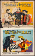 "Movie Posters:Western, The Heritage of the Desert (Paramount, 1924). Lobby Cards (2) (11""X 14""). Western.. ... (Total: 2 Items)"