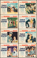 "Movie Posters:Comedy, Sailor Beware (Paramount, 1952). Fine/Very Fine. Lobby Card Set of8 (11"" X 14""). Comedy.. ... (Total: 8 Items)"