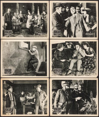 "Fighting Fate (Vitagraph, 1921). Lobby Cards (6) (11"" X 14""). Chapter Six -- ""The Crown Jewel Clue.""..."