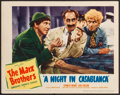 "Movie Posters:Comedy, A Night in Casablanca (United Artists, 1946). Lobby Card (11"" X14""). Comedy.. ..."