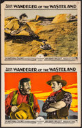 """Movie Posters:Western, Wanderer of the Wasteland (Paramount, 1924). Lobby Cards (2) (11"""" X 14""""). Western.. ... (Total: 2 Items)"""