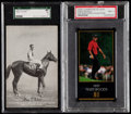 Basketball Cards:Lots, 1933-1998 Multi-Sport Graded Collection (11).. ...