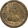 Political:Tokens & Medals, Zachary Taylor: Brass Shell Locket....