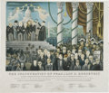 Political:Posters & Broadsides (1896-present), Franklin D. Roosevelt: 1933 Inauguration Print by Covarrubias....