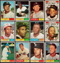 Baseball Cards:Sets, 1961 Topps Baseball Complete Set (587). . ...