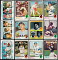 Baseball Cards:Sets, 1973 Topps Baseball Complete Set (660). . ...