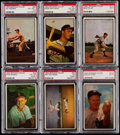 Baseball Cards:Sets, 1953 Bowman Color Baseball Near Set (159/160). . ...