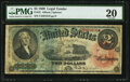 Large Size:Legal Tender Notes, Fr. 42 $2 1869 Legal Tender PMG Very Fine 20....