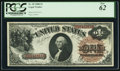 Large Size:Legal Tender Notes, Fr. 30 $1 1880 Legal Tender PCGS New 62. Resto...