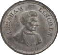 Political:Tokens & Medals, Abraham Lincoln: 1860 Campaign Medal....