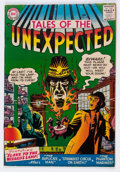 Silver Age (1956-1969):Horror, Tales of the Unexpected #10 (DC, 1957) Condition: FN....