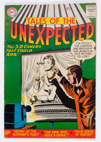 Tales of the Unexpected #8 (DC, 1956) Condition: FN+