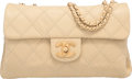 "Luxury Accessories:Bags, Chanel Beige Quilted Lambskin Small Flap Bag with Gold Hardware.Condition: 2. 10"" Width x 6"" Height x 2.5"" Depth. ..."