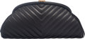 Luxury Accessories:Bags, Chanel Black Chevron Quilted Lambskin Leather Timeless Clu...