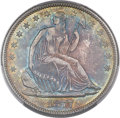 Seated Half Dollars, 1877-S 50C Closed Bud, Very Small S, WB-104, Die Pair Unlisted, MS66 PCGS. CAC....