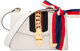 """Gucci Off-White Leather Small Sylvie Bag Condition: 3 10"""" Width x 7"""" Height x 3"""" Depth Property of a Lady..."""