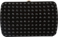 """Gucci Black Suede and Crystals Broadway Clutch Bag Condition: 3 7.5"""" Width x 4.75"""" Height x 1.5"""" Depth Pr..."""