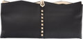 """Luxury Accessories:Bags, Valentino Black Calfskin Leather Rockstud Clutch. Condition: 4.12.75"""" Width x 6"""" Height x 1.25"""" Depth. Property of a Lady..."""