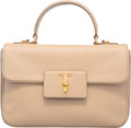Luxury Accessories:Bags, Prada Sabbia Saffiano Leather Top Handle Bag
