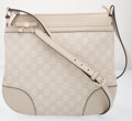 Luxury Accessories:Bags, Gucci Off-White Guccisima Leather Small Mayfair Bag