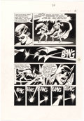 Original Comic Art:Panel Pages, Neal Adams and Dick Giordano Batman: Stacked Cards [Book andRecord Set] #PR27 Story Page 11 Original Art (Power R...
