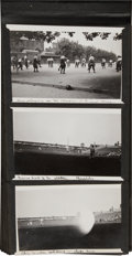 Baseball Collectibles:Others, 1912 Photograph Album with Multiple Original Images of Stockholm Olympic Games & World Series.. ...