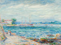 Paintings, Reynolds Beal (American, 1867-1951). San Juan Harbor, Puerto Rico, 1921. Oil on canvas. 22 x 30 inches (55.9 x 76.2 cm)...