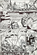 Original Comic Art:Panel Pages, Barry Windsor-Smith Marvel Comics Presents #76 Story Page 3Wolverine/Weapon X Original Art (Marvel, 1991)....