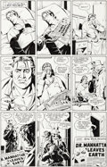 Original Comic Art:Panel Pages, Dave Gibbons Watchmen #3 Page 24 Rorschach and Nite OwlOriginal Art (DC, 1986)....