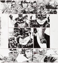 Original Comic Art:Panel Pages, Paul Pope Batman: Year 100 #2 Story Page 44 Original Art(DC, 2006)....