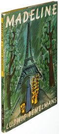 Books:Children's Books, Ludwig Bemelmans. Madeline. London: Derek Verschoyle, [1952]. First English edition, inscribed by the author on ...