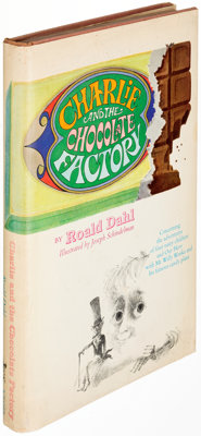 Roald Dahl. Charlie and the Chocolate Factory. New York: Alfred A. Knopf, [1964]. First edition