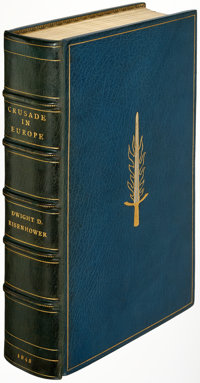 Dwight D. Eisenhower. Crusade in Europe. Garden City: Doubleday & Company, 1948. First edition